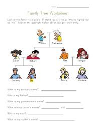 family tree template family tree printable worksheets