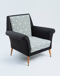Extraordinary Chair Upholstery Mid Century Danish Chair Newly Upholstered With Josef Frank