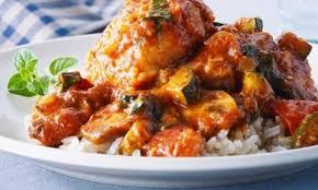 cuisiner haut de cuisse de poulet poulet aux légumes d été recettes cookeo