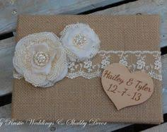 Shabby Chic Wedding Guest Book by New Vintage Wedding Guest Book Personalised Shabby Chic Boxed