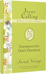 god s jesus calling bible study series experiencing god s presence