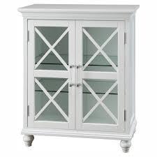 2 Door Floor Cabinet Home White Bathroom Door Floor Cabinet