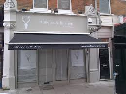 Awning Recover Transformation Of Shop Front Bramley Blinds And Awnings Your