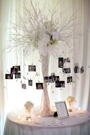 wedding reception decor best 25 wedding photo table ideas on engagement party