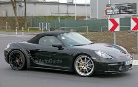 Porsche Boxster 718 - hotter porsche 718 boxster cayman gts models coming soon