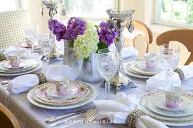 how to set table how to set a beautiful table with vintage china
