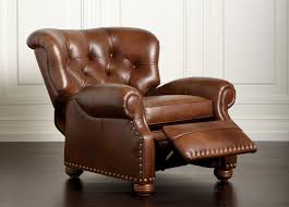 cromwell leather recliner recliners ethan allen ideas