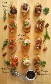 crostini recipes easy crostini party appetizers crudites