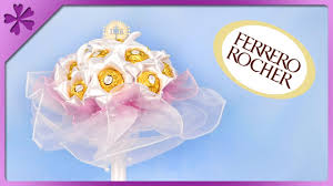 bouquet for wedding diy ferrero rocher bouquet for wedding communion eng