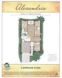Lennar Home Floor Plans by Florida New Homes July 2015