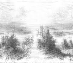 beautiful nature sketch pic beautiful pencil drawings of nature