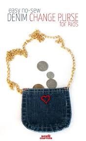 diy recycled jeans purse no sew moms and crafters