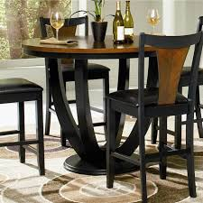 Counter Height Table And Chairs Set Bar Height Table And Chairs Traditional Bistro Design With 5