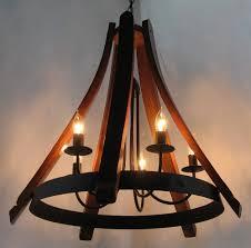 rustic wine barrel chandelier u2014 best home decor ideas wonderful