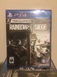 siege sony tom clancy s rainbow six siege playstation 4 and sealed
