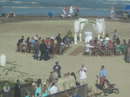 south padre island weddings we even got to a wedding from our window picture of
