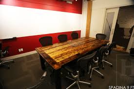 reclaimed wood conference tables toronto ontario 3 blog