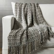 Crate And Barrel Shower Curtains Micah Woven Throw Blanket Crate And Barrel