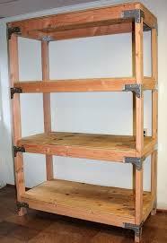 Building Wood Shelves 2x4 by Diy 2x4 Shelving Unit Hometalk