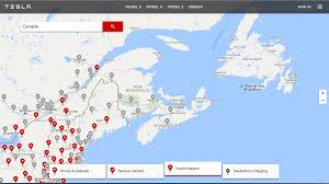 Tesla Supercharger Map Tesla Updated Supercharger Map To Add Upcoming Chargers For The
