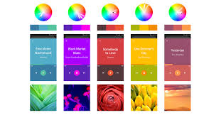 best three color scheme for ui design design code and prototyping talent in artistic skills and long observation of natural colours you need lots of experience to just point at the colour wheel and get what you want