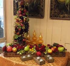 fruit arrangements nyc thanksgiving flowers and low trug fruit and floral