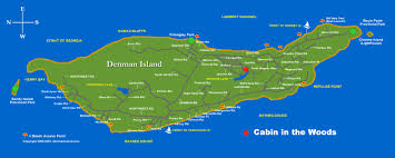 Map Of British Columbia Canada by Denman Island Vancouver Island Vacation Rental A Cabin In The Woods