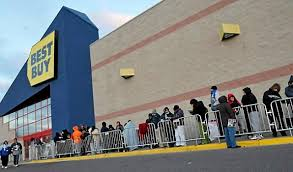 black friday post mortem record crowds spent less money cities