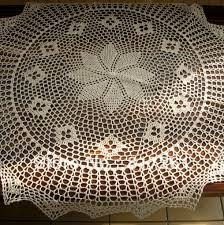 Crochet Patterns For Home Decor Aliexpress Com Buy Free Shipping Cotton Crochet Beige 90cm Round