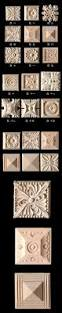 wood carving applique 5pcs europe vintage nautical home decor