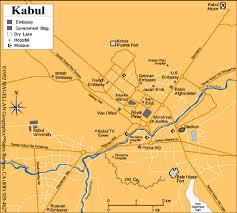 kabul map afghanistan maps perry castañeda map collection ut library