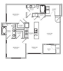 West 10 Apartments Floor Plans by Two Bedroom Luxury Apartments In Las Vegas Nv 2 Br