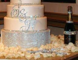 bling wedding cake toppers bling wedding cake toppers 6 custom monogram topper any