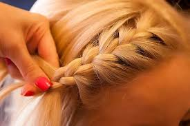 how to braid short hair step by step how to french braid your bangs tightly how to