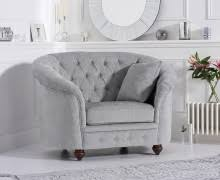 Grey Leather Armchair Harper Chesterfield Grey Leather Armchair