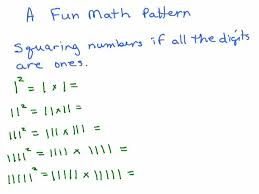 pattern and numbers numbers and number patterns videos for just for fun playing with
