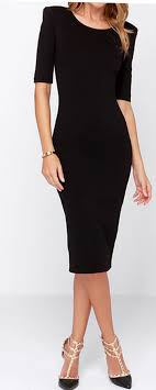 my black dress this is one idea for the bridesmaid dresses just a simple