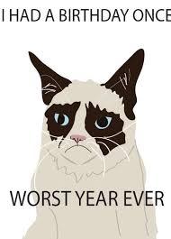 grumpy cat birthday card handmade grumpy cat birthday cards