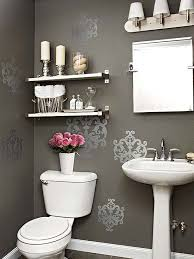 Bathroom Wall Shelving Ideas Bath Makeovers Under 2 000 Pedestal Sink Classic White And