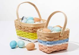 painted easter baskets painted easter baskets project plaid online