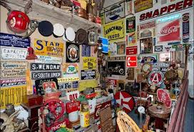 best antique stores near me jarvey treasures delivers massive sign vintage toy collection