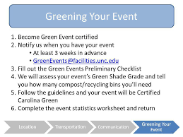 green events certification ppt video online download