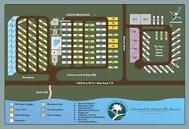 Florida Gulf Coast Beaches Map by Carrabelle Beach Rv Resort In Florida Rvc Outdoor Destination
