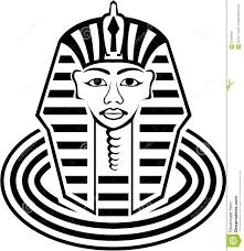 masks clipart pharaoh pencil and in color masks clipart pharaoh