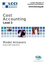 97903171 cost accounting series 3 2007 code3016