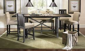 counter height dining room table modus yosemite counter height dining set the dump luxe furniture