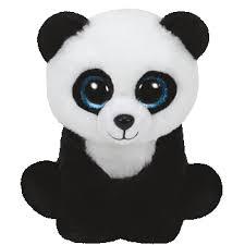 beanie boos ming panda bear small 42110 ty