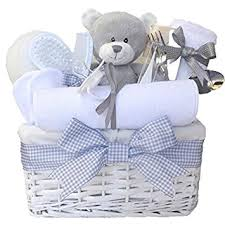 baby shower gifts shimmer wicker unisex baby gift basket baby baby shower