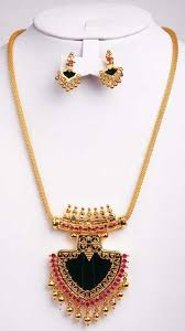 17 best kerala traditional necklace images on kerala