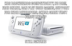 Wii U Meme - low on power big on quality games why the wii u succeeds despite